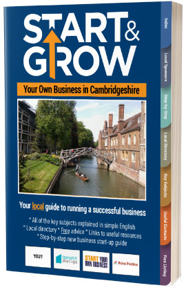 Start & Grow Your Business in Cambridgeshire